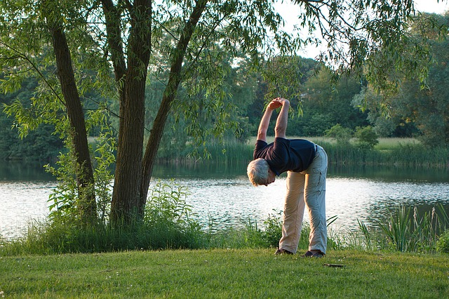 jóga u vody