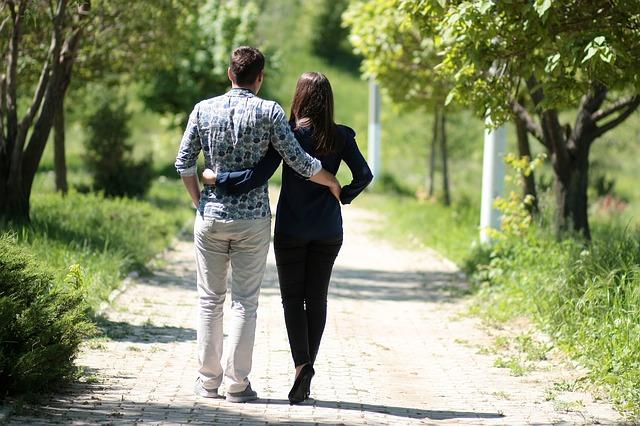 romantická procházka