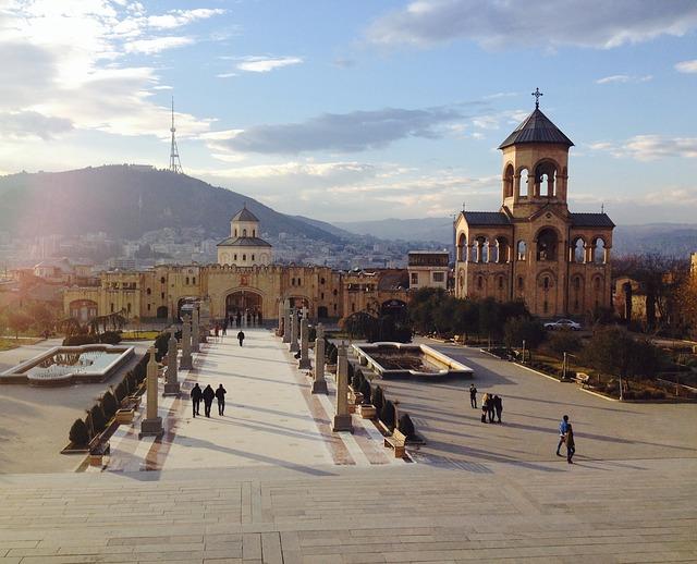 město Tbilisi