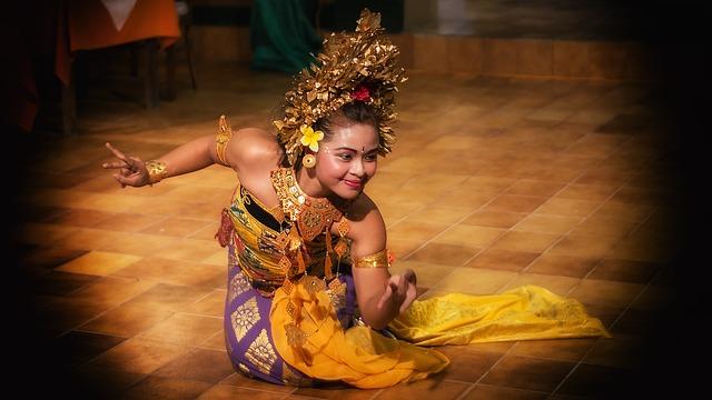 tanečnice z Bali