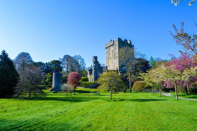 irský hrad