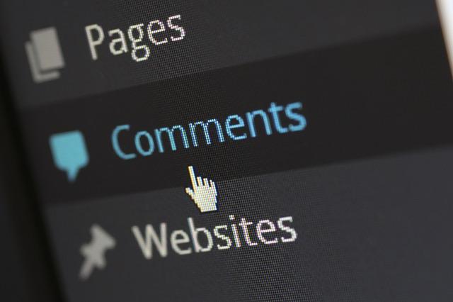 kurzor na komentářích