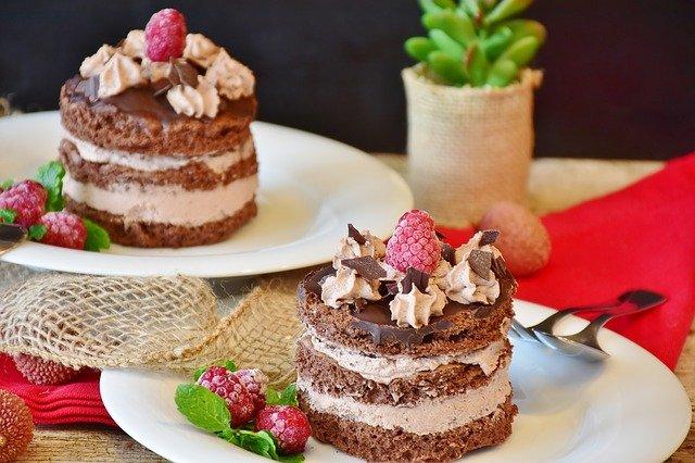 čokoládové dorty