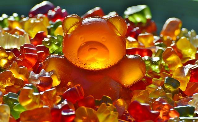 gumové sladkosti