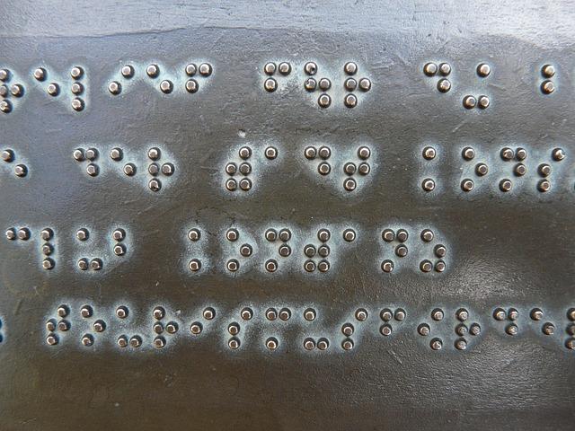 braillovo písmo