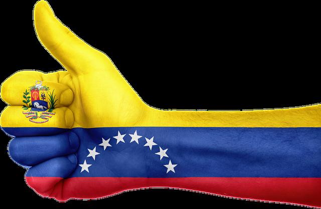 vlajka na ruce