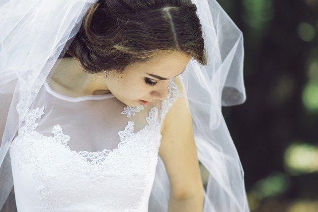 nevěsta se závojem