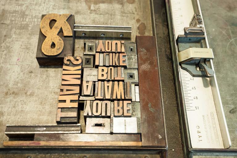 litery pro tisk